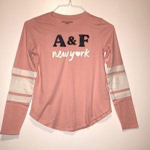 Pink Abercrombie shirt
